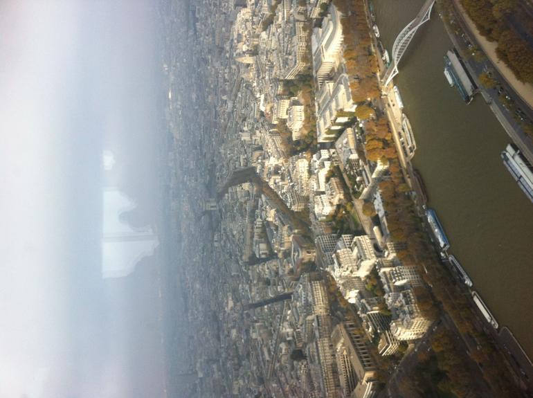 vieuw vanop de eifel toren - Paris