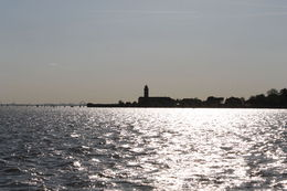 Returning from Burano to Venice , Cilla - August 2015