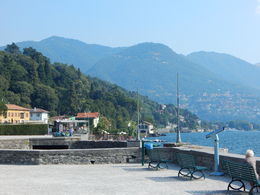 A view of Lake Como from the city of Como. , Edward R - August 2015