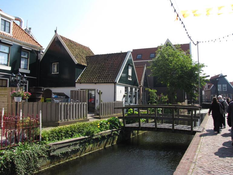 Volendam houses - Amsterdam