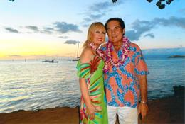 Linda and Charlie from Texas at The Old Lahaina Luau , Charlie H - September 2017