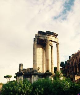 Ruins at the Roman Forum, Nancy - October 2014