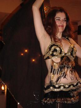 Greek style belly dancing!, Shannon F - December 2008