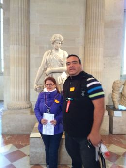 Louvre museum, you need to be there to experience first hand the beautiful paints. Never try to go to the museum without a tour guide, there is so many things to see, but if you don't know what..., JL S - April 2015