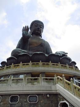 A view of the Big Buddha from a few steps down. , BethanieKay - July 2014