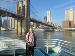 View of Brooklyn Bridge , Avril R - December 2011
