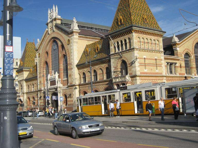 Buda side - central indoor market - Budapest
