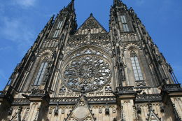 Cathedral inside Prague Castle , supriyadeb - May 2015