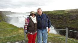 enjoying the day at the falls , Cherie H - September 2015