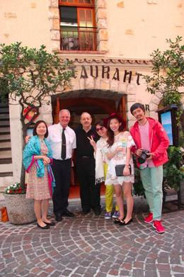 Rolf took us for lunch at his friend's restaurant, which got certified by Tripadvisor and it was spectacular , Lena - August 2014