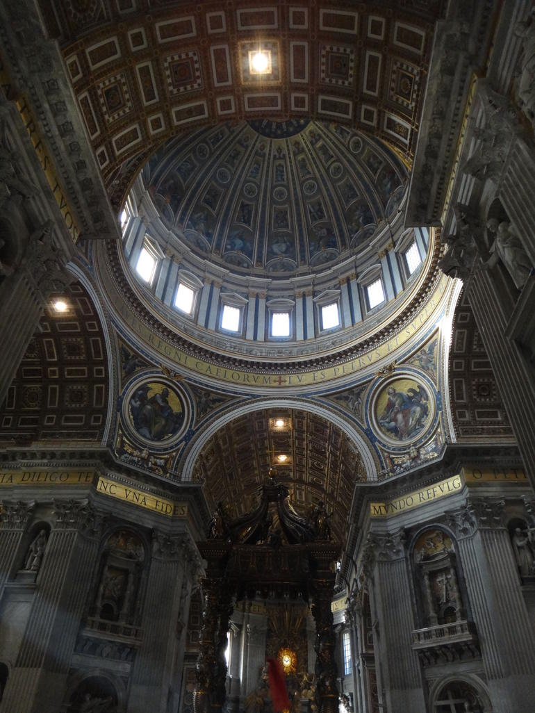 Inside St. Peters - Rome