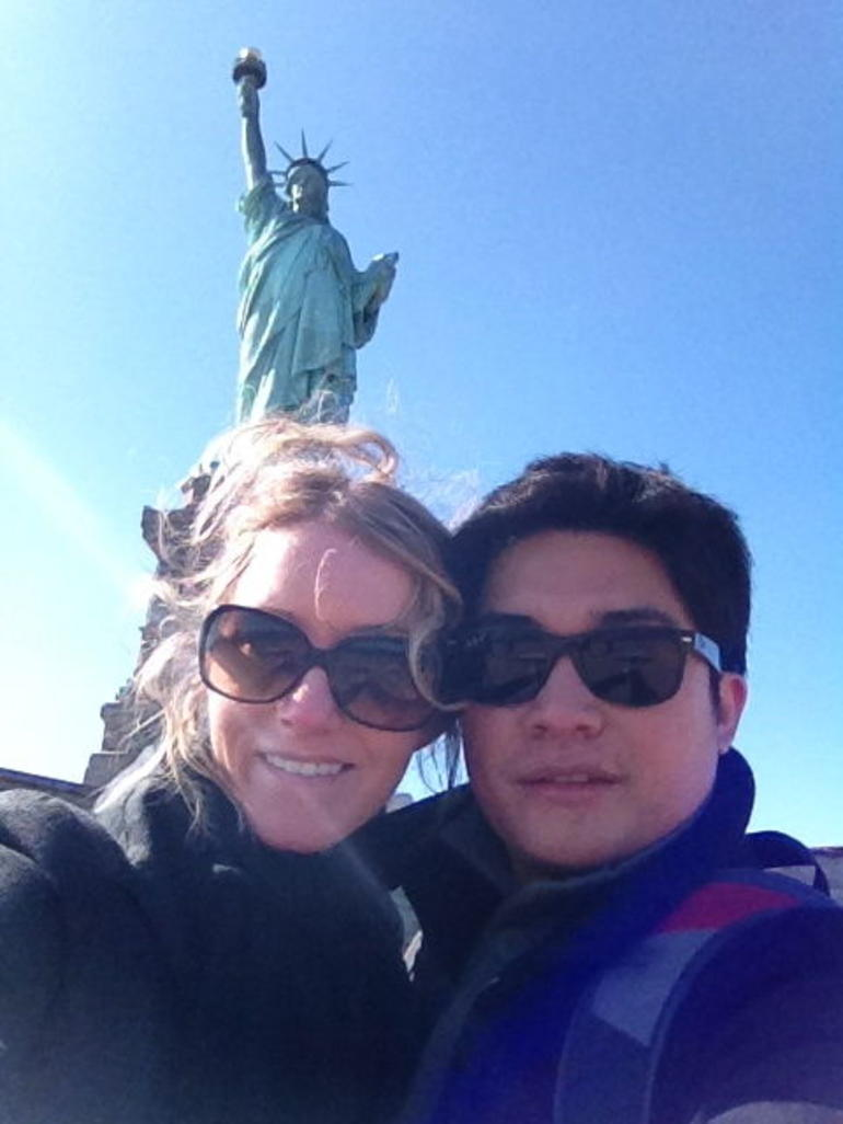 Lady Liberty and My Lady - New York City