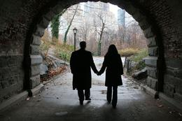 In Central Park. - February 2009