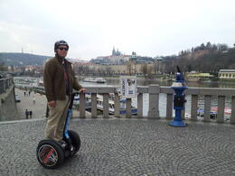 Went to cross the Saint Charles Bridge and opted to explore the other side of the city! , Dubi - April 2013