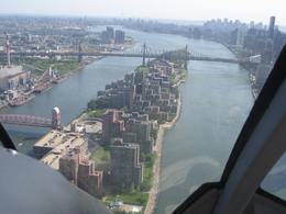 East River, Roosevelt Island. - June 2008