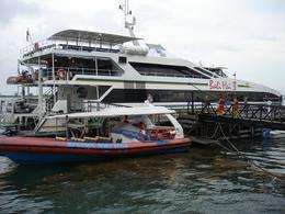 The Ship: Bali Hai is very comfortable with three decks., Madhav N - November 2008