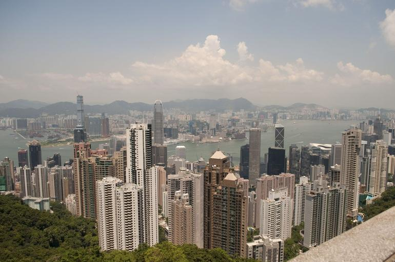 view from the Peak - Hong Kong