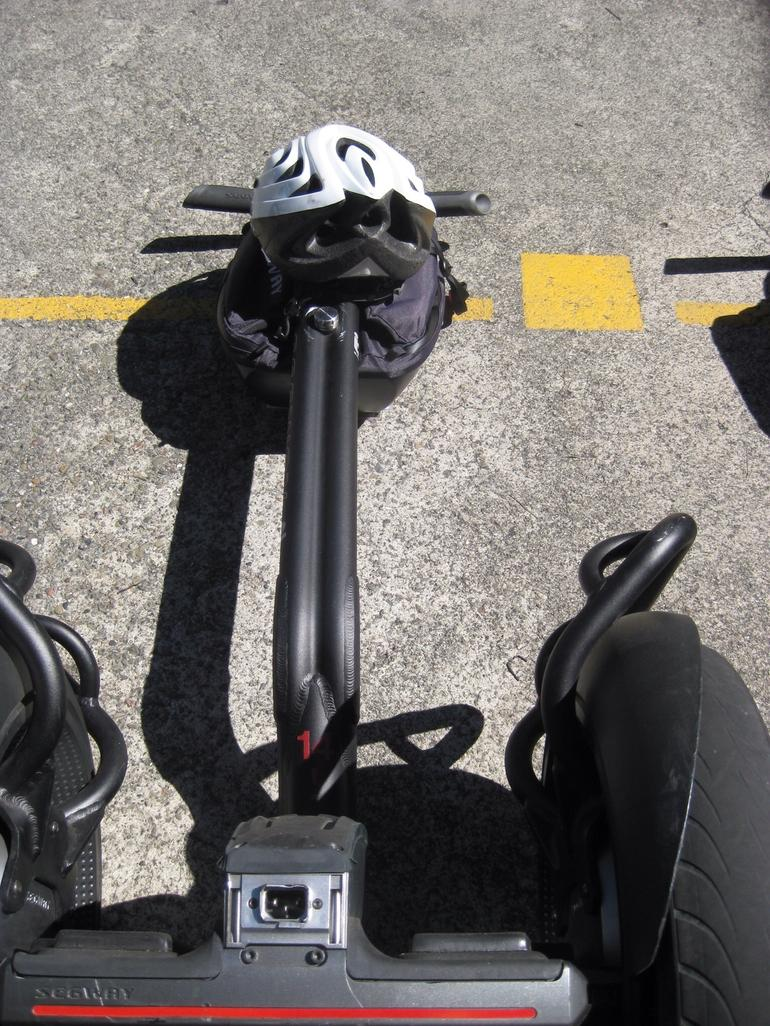What a Segway looks like before you pick it up - San Francisco