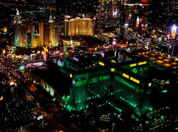 5 Star helicopter trip over Las Vegas flying over our hotel MGM Grand , Mike R - November 2016
