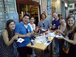 Our group enjoying our pizza! , rockyz1980 - July 2017