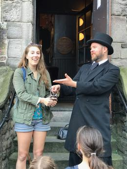 Our guide, describing the witchcraft trials. , Christopher R - July 2017