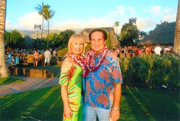 Linda and Charlie at the Old Lahaina Luau , Charlie H - September 2017