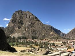 Midway to the top of Ollantaytambo , Marissa D - September 2017