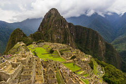 wide shot of Huayna Picchu , Apollo - December 2017