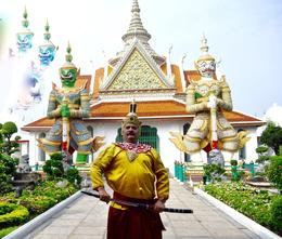 KING OF SIAM WAT ARUN TOUR , larcy - February 2018