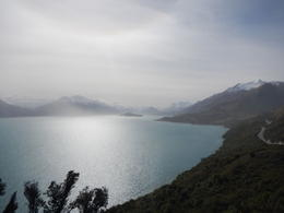 A stop for photo opp along Lake Wakapitu, during our 4WD ride to Glenorchy and Paradise, NZ , Randall P - November 2013