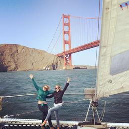 The best part of the trip was looking back at the city from outside of the Golden Gate Bridge; once we turned around and had the wind at out backs, it was an easy return to port! , Jen K - September 2014