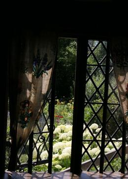 I loved exploring the gardens at Anne Hathaway's Cottage - July 2008