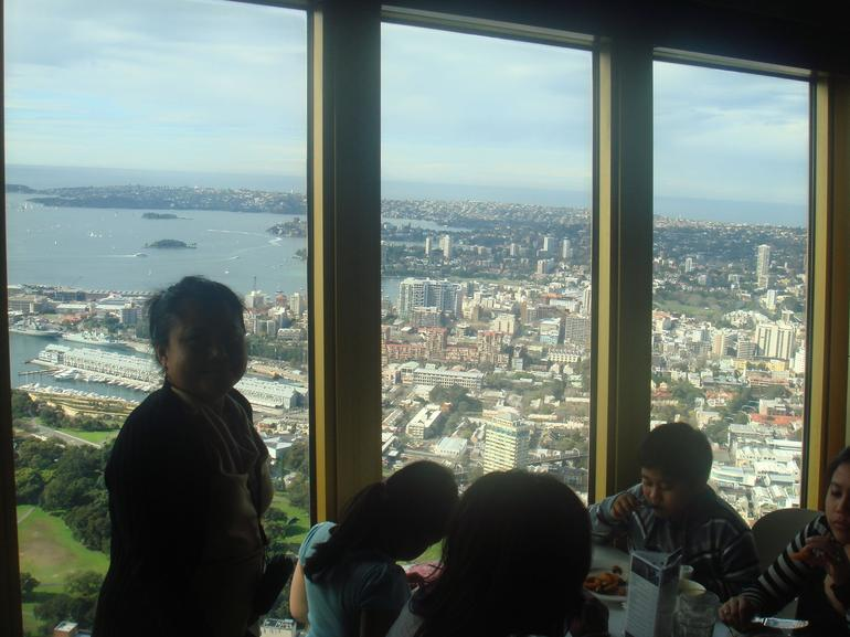At the Sydney Tower...lunch time - Sydney