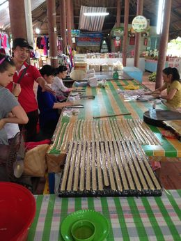 Coconut candy making at the village - sweet , Janine S - May 2015