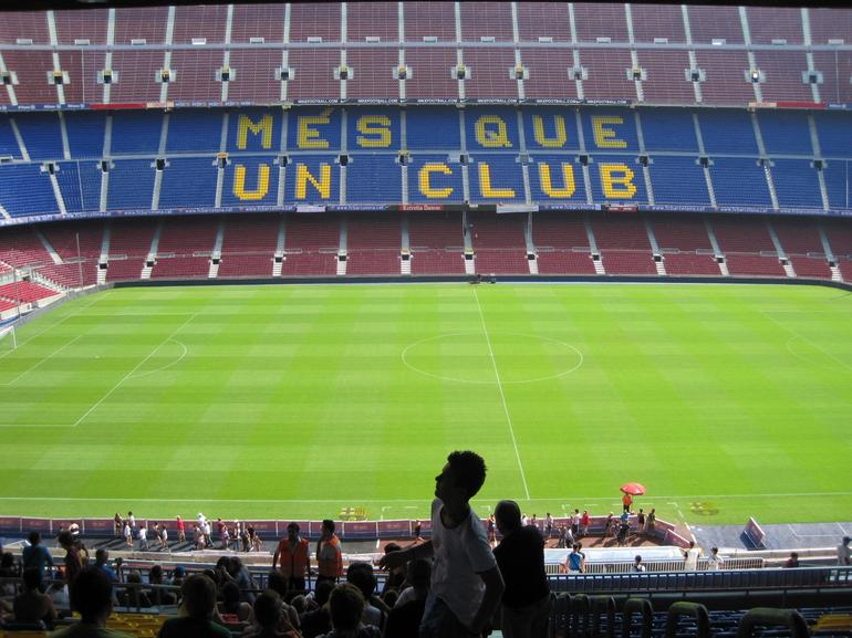 FC Barcelona Football Stadium Tour and Museum Tickets - Barcelona