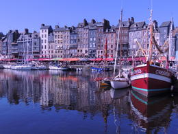 This is a beautiful fishing village on the coast of Normandy. , Kevin F - September 2012