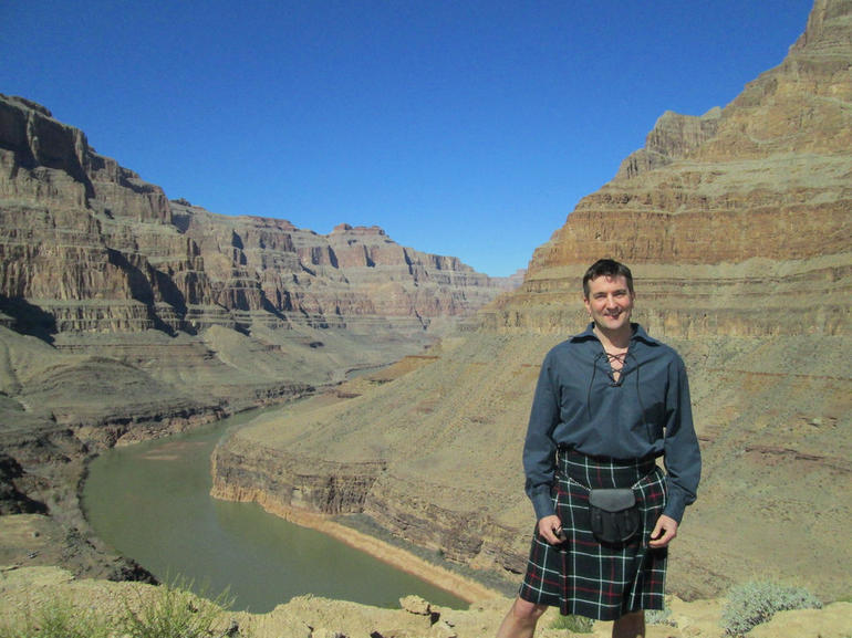 Jonny Farley at the Grand Canyon - Las Vegas