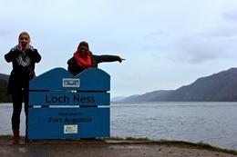 I think we saw Nessie!!!! , Erin W - February 2014