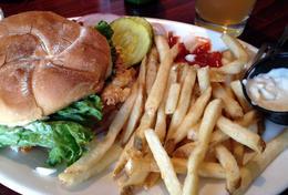 Lunch!, Jules & Brock - July 2012
