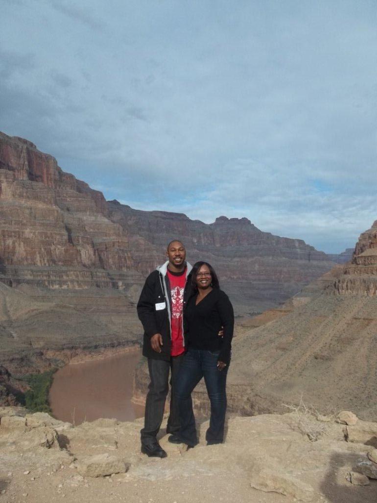 Overlooking the Colorado River - Las Vegas