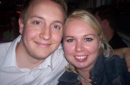 Me and my girlfriend on the River Seine cruise., Philip G - September 2007