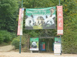 Entrance to the zoo, Irene - October 2013
