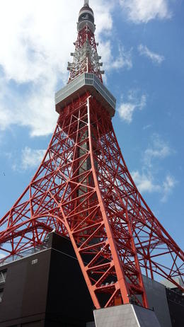 This is an iconic landmark of Tokyo. It serves both as a communications hub and a major tourist attraction at 333m. There are two observation decks, one at 150m and the other one at 250m. , Catherine C - April 2014