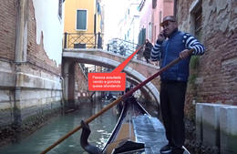 Já comuniquei a Marinha e Associação dos Gondoleiros de Veneza , Fernando A - November 2017