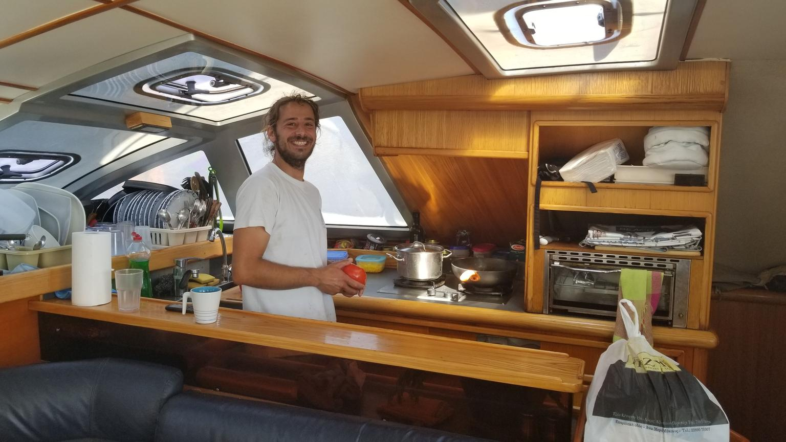 MORE PHOTOS, Mykonos Catamaran Private Sailing Cruise with Food and Drinks