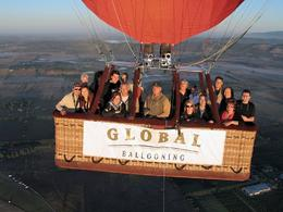 This picture was actually taken from the camera mounted on our Global Ballooning balloon. Brian had control of taking the pictures. Being as this is in essense advertising for them, I don't think ...  - March 2010