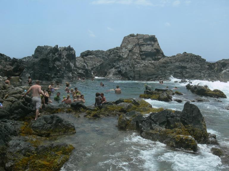 A cool Dip from the Heat - Aruba