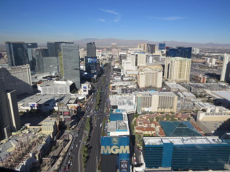 A famosa Strip - Las Vegas
