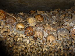 Catacombs of Paris , Mhairi L C - June 2013