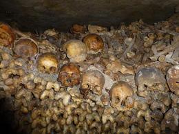 Catacombs of Paris , Mhairi L C - June 2013